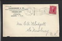 CONCORD, NEW HAMPSHIRE 1903 ADVT  FLEISCHMANN & CO.  COMPRESSED YEAST.