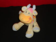 Nattou Kuh Belle & Bo Giraffe beige Plüschtier Plüsch 079 top Zustand