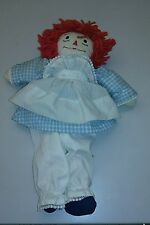 Raggedy anne 1970s home made vintage doll knickerbocker toys playskool kids andy