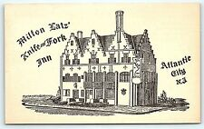 Postcard NJ Atlantic City Milton Latz Knife And Fork Inn Restaurant #10 B14