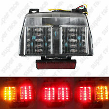 Clear LED Integrated Brake Turn Signal Tail Light For Ducati 748 996 998