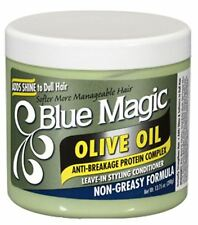 Blue Magic Olive Oil Leave-In Styling Conditioner, 13.75 oz (Pack of 8)