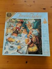 A MAD HATTER TEA PARTY JIGSAW 625 PIECES TIMELESS TALES A FALCON PUZZLE ALICE B5