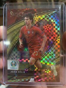 Joāo Felix Euro2020 Gold Prizm /10!!! Pack Fresh! Panini Select!