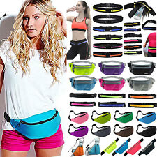 Fanny Pack Waist Belt Bum Bag Jogging Running Travel Pouch Keys Money Sport Gym