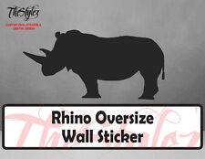 Rhino Oversize Wall Vinyl Sticker