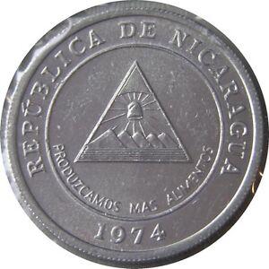 elf Nicaragua 5 Centavos 1974   FAO