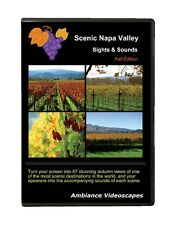 Autumn colors Wine Country DVD - Napa Valley, scenic, ambiance video, fall +