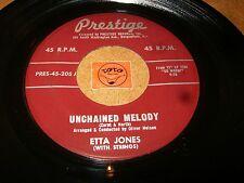 ETTA JONES - UNCHAINED MELODY - HURRY HOME   / LISTEN - VOCAL JAZZ