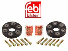 For Mercedes W115 220 W123 300CD 300D Set of Two Drive Shaft Flex Joint Disc Kit