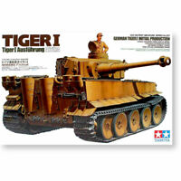 1/35 Scale WWII Tiger I Germany Heavy Tank Initial Production Model Kit Set