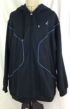 Air Jordan Melo Mens Hoodie Jacket 3XL XXXL Size 2005 Black Blue Carmelo Anthony