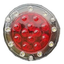 Maxxima Round Hybrid (21 LED) S/T/T and Back Up Light  With PigTail Included