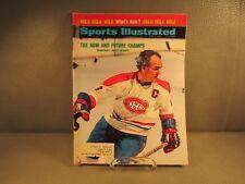 Vintage Sports Illustrated April 2,1973 Montreal's Henri Richard Pro Hockey