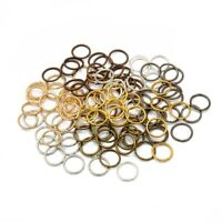 10g Brass Open Jump Rings Round Unsoldered Loop Jewellery Links Findings 4~10mm