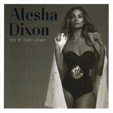 ALESHA DIXON Do It For Love 2015 UK 12-track CD NEW/SEALED