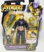 Marvel Avengers Infinity War Captain America Action Figure Brand New