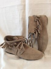 H&M Brown Ankle Suede Boots Size 38