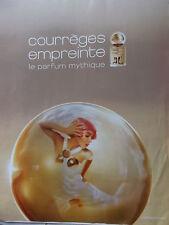 publicité       Parfum   EMPREINTE de COURREGES     2012   ref. 4650