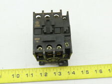 General Electric CR4CF-10 600V 3Ph 25Hp Magnetic Contactor 208V Coil