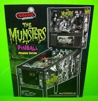 The Munsters Pinball Machine FLYER Premium Original Horror Halloween Gothic
