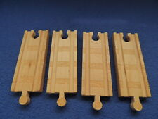 "Thomas Train Wood Wooden Lot 4 Track 4.5"" Long"