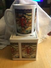 """Mary Engelbreit Mugs """" You Better Not Pout� Nib price reduced"""