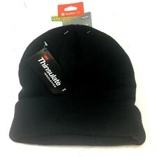 Tek Gear 3M Thinsulate Black Knit Watch Hat Beanie Stocking CAP Insulated NWT 11
