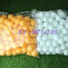 100/150Pcs 40MM Olympic Table Tennis Ping Pong Balls Sport Supply White/Yellow