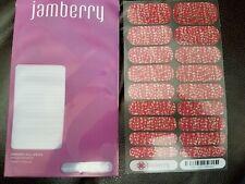 Jamberry Nail Wraps Joyful Celebration Full Sheet Christmas 2014 Exclusive