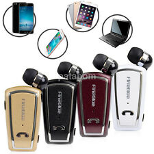 Retractable Wireless Stereo Headset Bluetooth Headset Earphone for Smart Phone
