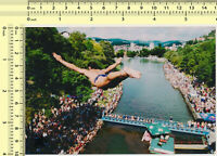 090 2011 Man Dive Jump Fly Motion Abstract Surreal in Air original photo