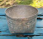 TANE Vintage Woven Basket 925 Sterling Silver ~ 273.7 Grams RARE