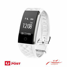 Sports Tracker Watch Waterproof Fitness Heart Rate Activity Monitor Fitbit Style