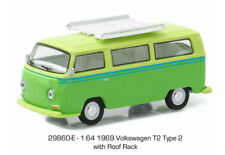 1/64 GREENLIGHT CLUB V-DUB SERIES 4 1969 Volkswagen T2 Type 2 with Roof Rack
