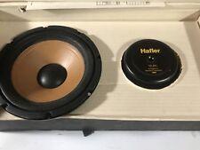 "Ultra Rare Hafler 8"" Subwoofers Old School Car Stereo Vintage Audio Speakers MAS"