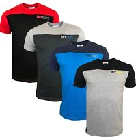 Mens Summer HLY T-shirt 100% Cotton Gym Athletic Training Tee Top Quality New