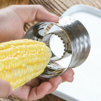 Corn Stripper Stainless Steel Corn Cob Peeler Slicer Circular Corn Cutter  BRPF