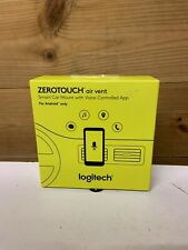Logitech ZEROTOUCH Air Vent Smart Car Mount & Voice Controlled App for Alexa & A