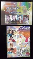 ELVIS PRESLEY Commemorative Sheets - First Recording Anniv/ MICRONESIA #607 -08