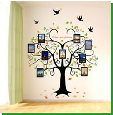 Removable Vinyl Wall Decal Family Photo pictures frame tree Sticker DIY Decor