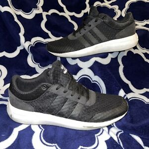 Adidas Mens Size 10.5 Cloudfoam BlacK Sneakers - Pre-Owned