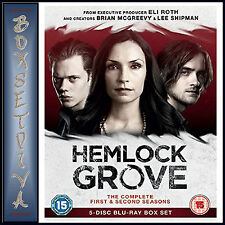 HEMLOCK GROVE - COMPLETE SEASONS 1 &  2  **BRAND NEW BLU-RAY BOXSET**