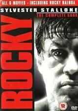 Rocky: 1-6 The Complete Saga 6 dvd disc set Sylvester Stallone