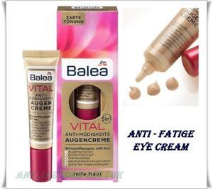 Balea VITAL 5 in1 Anti-Fatigue Eye Cream  for Mature Skin Age 15 ml