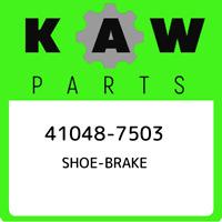 41048-7503 Kawasaki Shoe-brake 410487503, New Genuine OEM Part