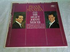 Frank Sinatra Sings The Select Johnny Mercer LP Capitol Inner Sleeve Laura