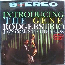 Introducing the Gene Rodgers Trio, Jazz Comes to the Astor, Mercury, SR 80012