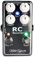 Xotic Effects RC Booster V2 Chrome New guitar effect pedal