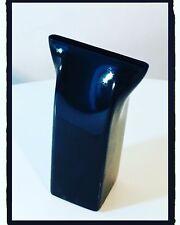 ALESSI Vaso per fiori PINCH  VASE Acciaio Inox nero Designer Adam Shirley 2012